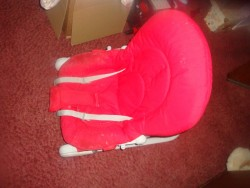 BABY BOUNCER RED