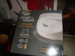 TOMMEE TIPPEE MICROWAVE STEAM STERILISER PACK