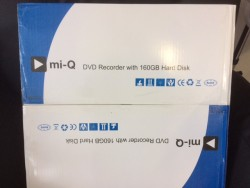 MI-Q DVD RECORDER WITH 160GB Hard Drive (Still in Box never opened)