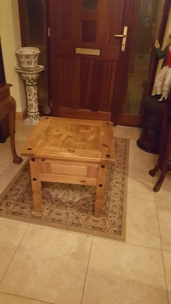 Small Mexican  coffee  table