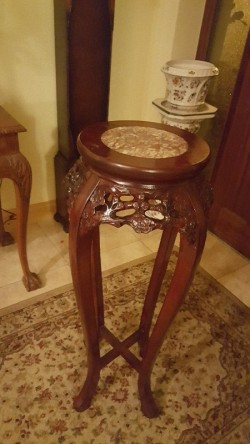 Ornate   tall plant stand