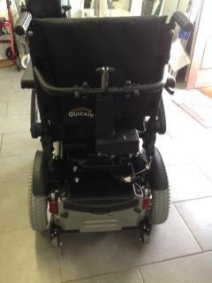Quickie Salsa Powered Wheelchair(max weight 140 kg)