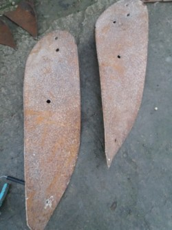 Massey harris trailed plough boards