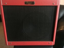 Fender Blues junior 15Watt combo amp.