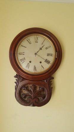 Antique regulator clock 150 yrs