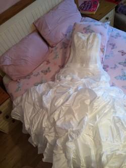 Wedding Dress & Hoop