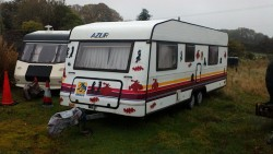 6 berth showmans caravan
