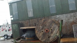 4ft cable drums x3