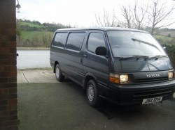 toyota hiace wanted