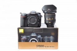 Nikon D500 20.9MP DX DSLR Camera With 16-80mm VR Lens