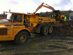 Artic Dumper with Driver for Hire