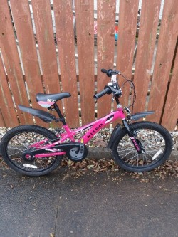 Girls bike in excellent condition