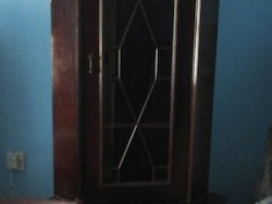 Glass Cabinet Corner Unit