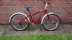 Raleigh Pacific Ladies Retro Cruiser Bike