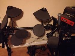 Drum Kit Electric Rack Mounted