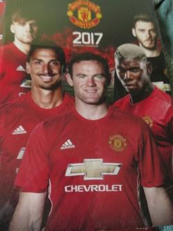 Manchester United Calendars (Three Types)