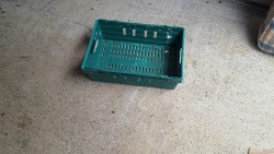 Quantity  of plastic crates
