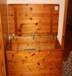 Multi Purpose Storage Box/Antique Pine