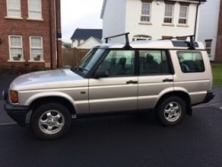 2000 Landrover Discovery Series II TD5 Silver