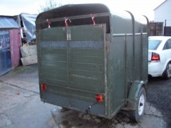 Cattle Trailer 7 1/2 ft long by 5ft wide by 7ft high