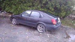 98 corolla 1.3i for parts or breaking