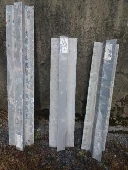 Steel lintels (catnicks)