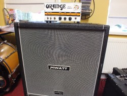 Orange Tiny Terror Amplifier Head mark 1 hiwatt 4 x 12 cabinet