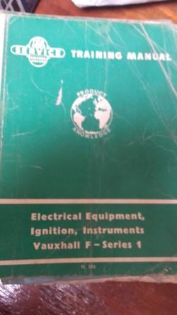 vintage vauxhall training manuals