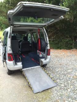 Citron berlingo disabled access vehicle