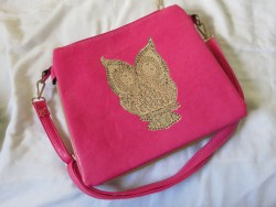 Owl Studded Handbag