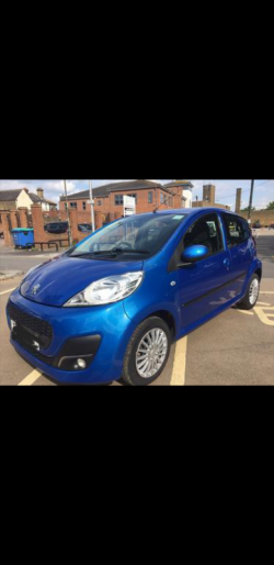 Peugeot 107 for sale, 2013, very low tax and insurance