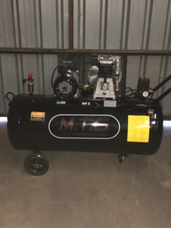 Brand new 200 litre Air Compressor 3hp