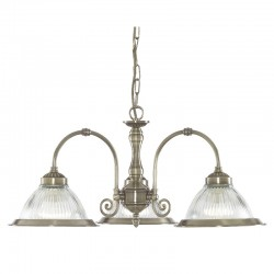 American Diner Pendant and Wall Light Set