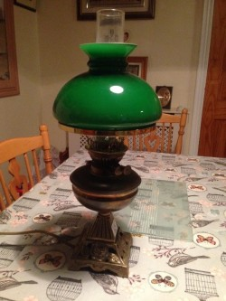 Electric oil lamps