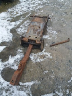 Massey ferguson swinging drawbar 35/135