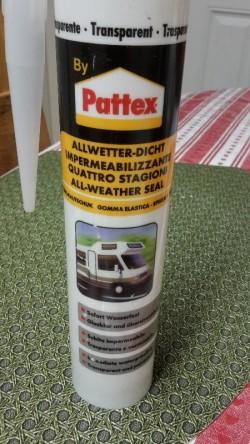 Patex -transparent sealant (solvent based)