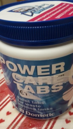 Power Care Tabs (Toilet tabs for holding tanks)