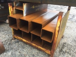 Pallet of Steel Box Section