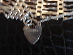 Silver gate bracelet