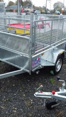 new 6x4 tuffmac car trailer