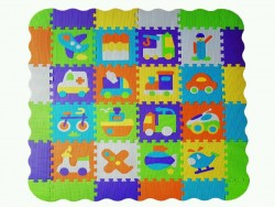 Activity Puzzle Mat. Baby Play Educational Soft Mat.