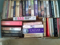 Box of Books, Mixed, about 40 - 50