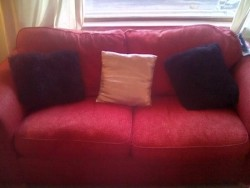 Two seated sofa and Arm chair