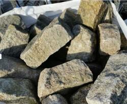 Granite Window Sill & 2 Bags of silver Granite Building Stone