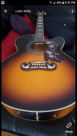 Epiphone EJ-200ce Vs Guitar