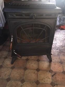 Stanley Eirn Solid Fuel Stove