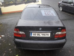 03 bmw 320d m series for quick sale €1,100