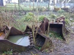 6 JCB Sitermaster buckets