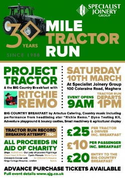 Project Tractor & the BIG Country Breakfast with Richie Remo