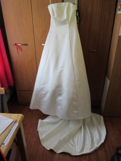 Wedding Dress  ,Ivory colour ,size 14